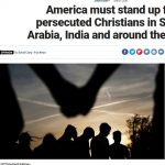 America must stand up for persecuted Christians … around the world